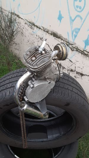 Motor for bicycle with exhaust and carburetor for Sale in Portland, OR