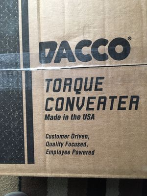 Dacco Torque Converter for Sale in Gahanna, OH