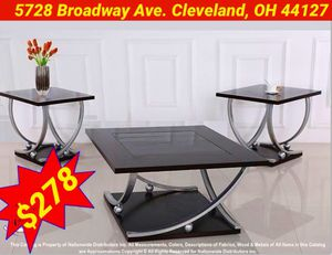 $278 Cocktail and End Tables: Mattress& Furniture 4 Less for Sale in Cleveland, OH