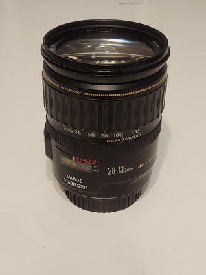Canon 28-135 mm Zoom Lens EF DSLR Lens for Sale in Charlottesville, VA