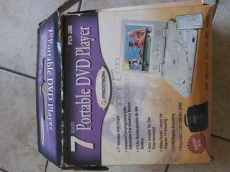 Portable DVD player .7 inch for Sale in Kearny,  NJ