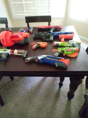 Lot of 20 nerf guns $100 for Sale in Rancho Cucamonga, CA