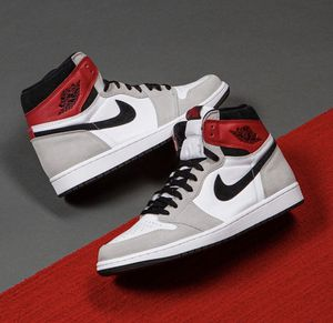 Smoke grey Nike air Jordan 1 mens 8 & kids size 6Y for Sale in Miramar, FL