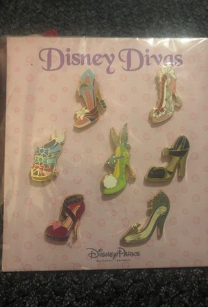 New: Disney Divas Collectible Pins for Sale in Orange, CA