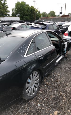 Selling parts for a black Audi A8 for Sale in Detroit, MI