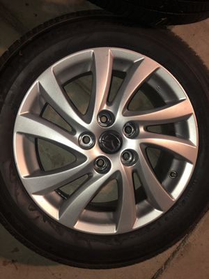 Bridgestone Turanza EL4000 Tires w/ Mazda3 stock rims for Sale in Rosemead, CA
