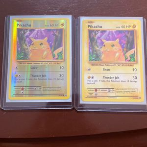 Pikachu Holo & Reverse Holo (both 2016) for Sale in Galena, OH