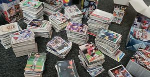 Over 8 boxes of mixed baseball cards from different years 2007-2019 for Sale in Cicero, IL