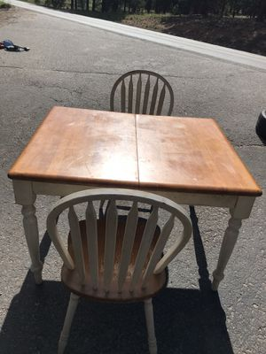 Small kitchen table with 2 chairs for Sale in Bailey, CO