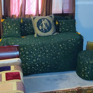 Moroccon Style Bean Bag Couch for Sale in Hillcrest Heights, MD
