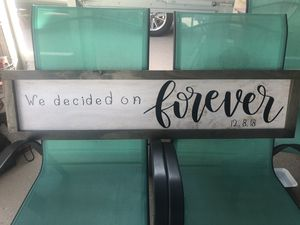 Handmade personalized wall decor for Sale in Lehigh Acres, FL