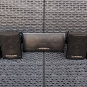 Harman/Kardon TS2 Satellite and Center channel speakers (set of 5) for Sale in San Mateo, CA