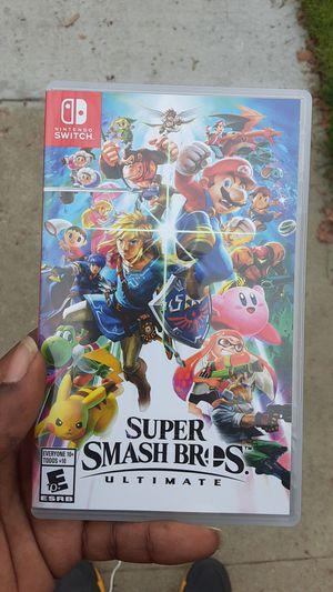 Super Mario Smash Bros Ultimate for Sale in Bellflower, CA