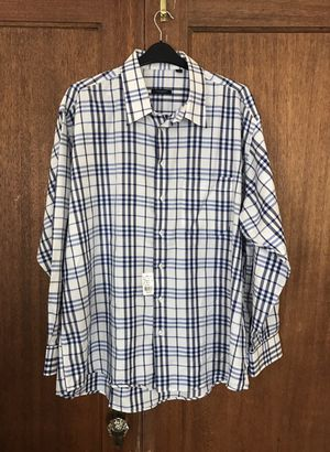 Burberry Men's Button Up Size XXL!!! for Sale in Seattle, WA