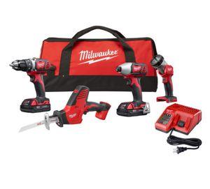 Milwaukee 4 pcs tool combo new in box for Sale in Arlington, VA