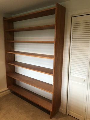 Solid mahogany bookcase , vintage in good condition for Sale in Kirkland, WA