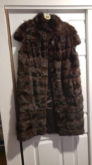 New mink fur vest for Sale in Everett, WA