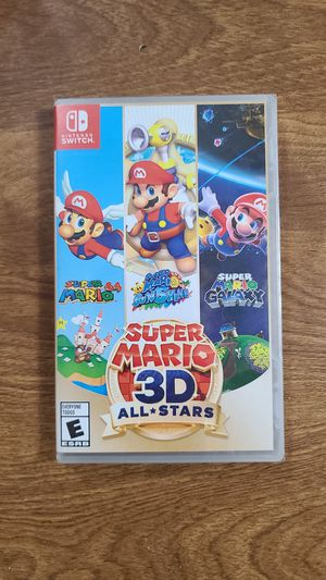 Super Mario 3D All Stars-NEW, SEALED-Nintendo Switch for Sale in Portland, CT