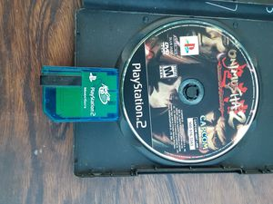 Onimusha 2 PS2 game with memory card for Sale in Washington, DC