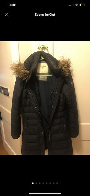 Abercrombie and Fitch Navy Parka WOMEN Medium for Sale for sale  Buena Park, CA