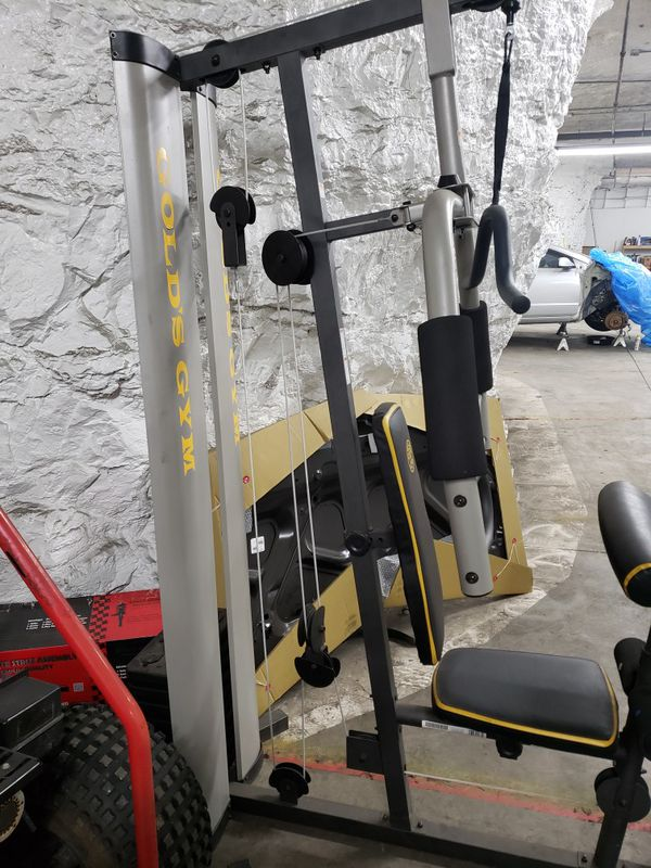 Golds gym weight machine