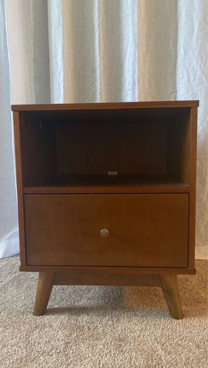 Mid Century Modern Nightstand for Sale in Fountain Valley, CA