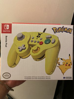 Pikachu theme wired controller for Nintendo switch for Sale in Los Angeles, CA