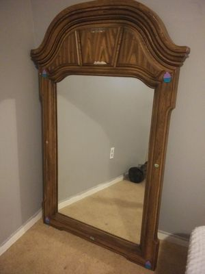 Mirror swivel chairs desk & childrens shelf for Sale in Kingwood, TX