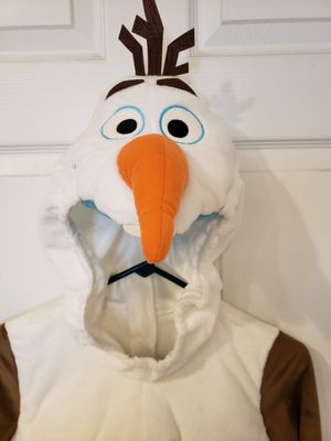 New Disney Frozen Olaf Costume size 5/6 for Sale in Pflugerville, TX