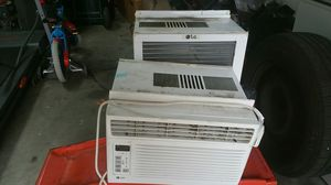 2 LG ac window units 6000 btu for Sale in North Lauderdale, FL
