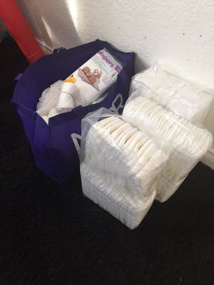 NB and 1 size diapers for Sale in Bakersfield, CA