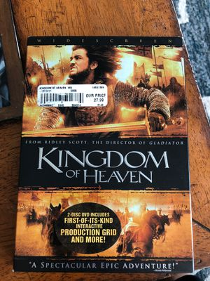 Kingdom of Heaven DVD for Sale in Westminster, CO