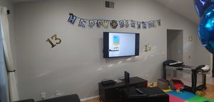 Fortnite birthday party supplies,you can change the age on the banner ! for Sale in Tampa, FL