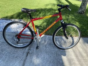 Gary Fisher, Marlin mountain bike in excellent condition but needs a rear enter too that's why I'm selling it for a reduced price for Sale in Palm Harbor, FL