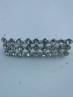 Crystal Bar Pin