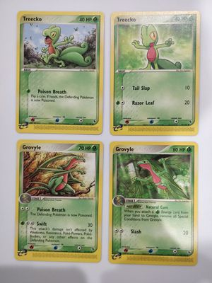 Treecko & Grovyle Mint Pokemon EX - R&S for Sale in Forest Heights, MD