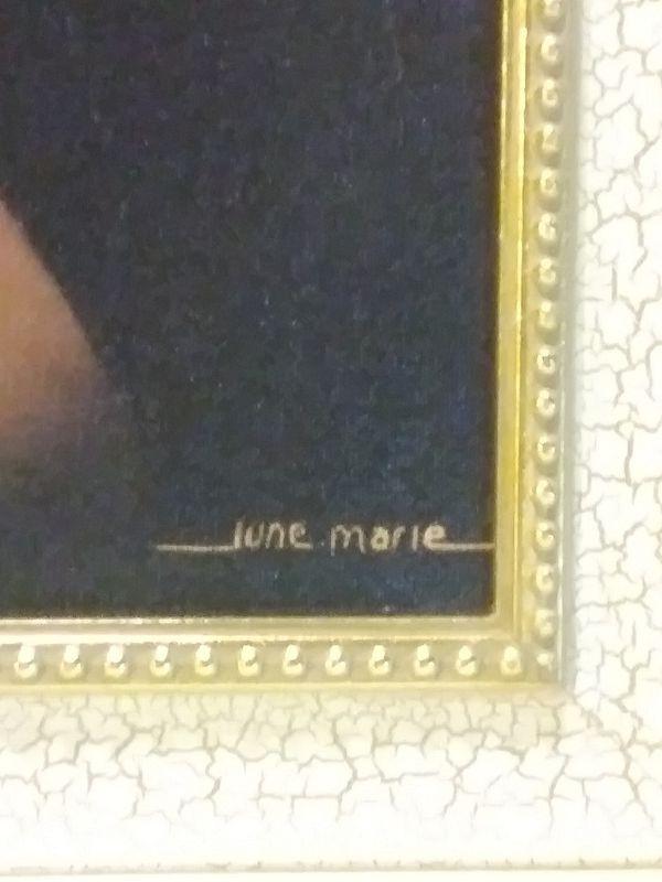 June Marie painting