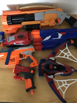 Nerf Guns / Spiderman Webber for Sale in Washington,  DC