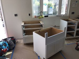 I stalling cabinets, drywall parched and I have experience painting house interior and outside for Sale in San Jose, CA