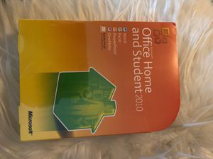 Microsoft office home and student 2010 for Sale in Monterey Park, CA