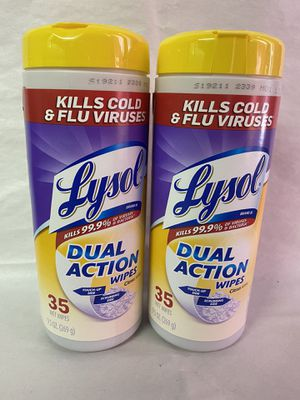 Lysol wipes x2 for Sale in Burbank, CA