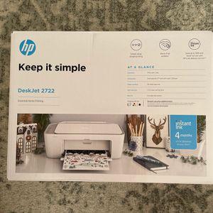 HP Deskjet 2722 Printer New for Sale in Orlando, FL