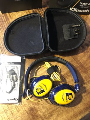 NIB Klipsch Pacers headphones with case and original box for Sale in Plainfield, IN