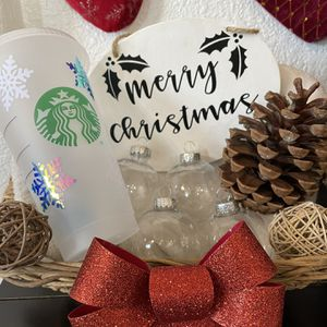Christmas Gifts Cups Ornaments Signs for Sale in Glendora, CA