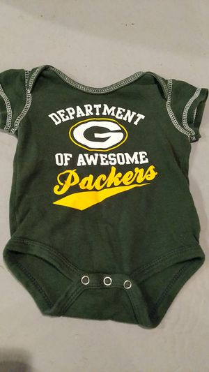 0 to 3 months Green Bay Packers onesie for Sale in Hazelwood, MO