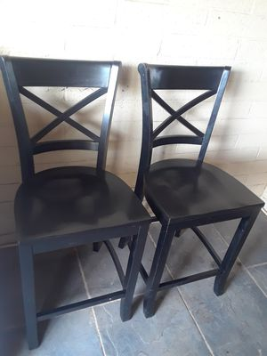 Two bar stool excellent condition for Sale in Phoenix, AZ