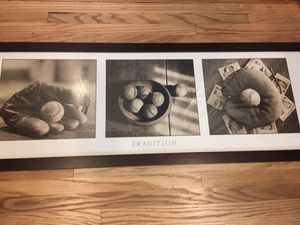 Baseball photography frame 12x36 for Sale in San Diego, CA