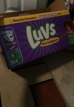Luvs diapers for Sale in Arlington, VA