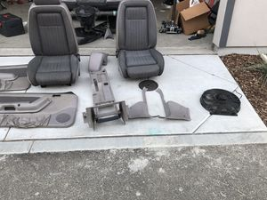 1990 Mustang interior parts (seats, center console, etc) for Sale in Pittsburg, CA