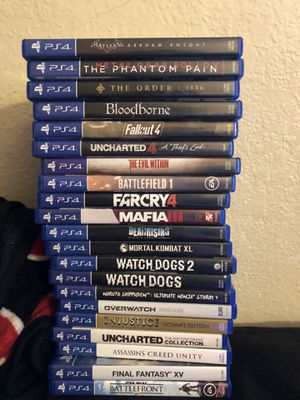 PS4 Games Collection for Sale in Vacaville, CA